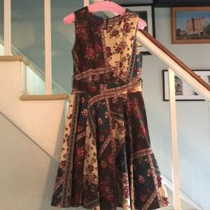 Full circle midi dress